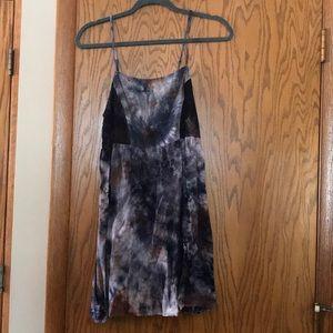 Urban Outfitters tie dye sun dress